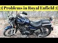 Royal Enfield Thunderbird 350 Problems Detailed Explanation Must Watch