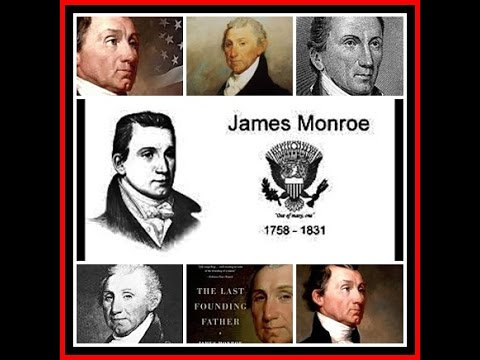 American Presidents - James Monroe 5th  US President