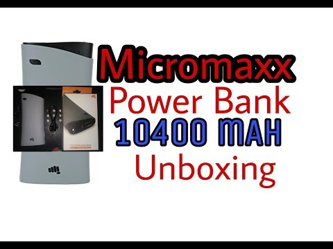 Power Bank Unboxing  Micromax Power Bank