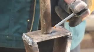 как сделать ручной дровокол видео своими руками
