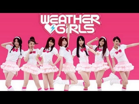 Taiwan Weather Girls makes Japan debut as a superstar group