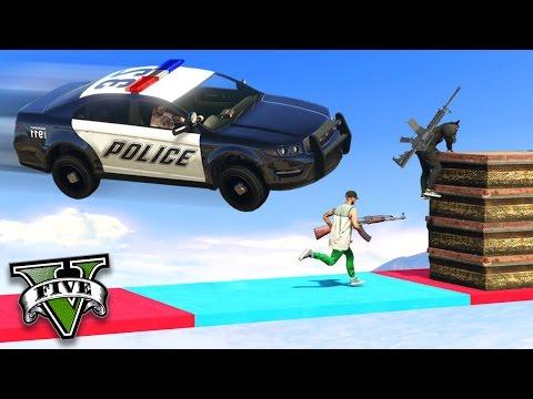 GTA V Online: POLICIA vs BANDIDOS - A ROCKSTAR É DO CRIME!