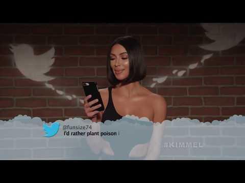 Знаменитости читают злые твиты \ шоу Джимми Киммела (26.09.2019) (озвучка Кураж-Бамбей)
