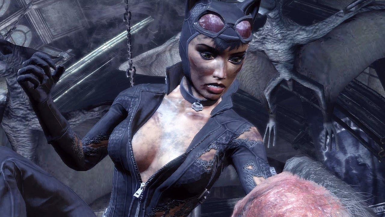 batman arkham city выстрел в темноте