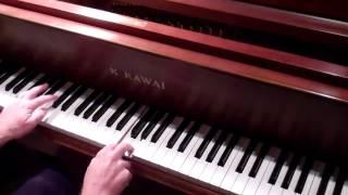 Batman TV Theme piano tutorial