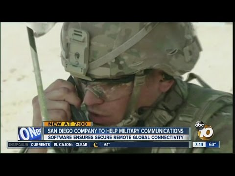 SD company aims to fix military communications