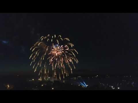 4th of July Fireworks Portland, Maine 2017