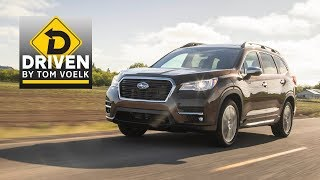 Driven- 2019 Subaru Ascent Premium Car Review