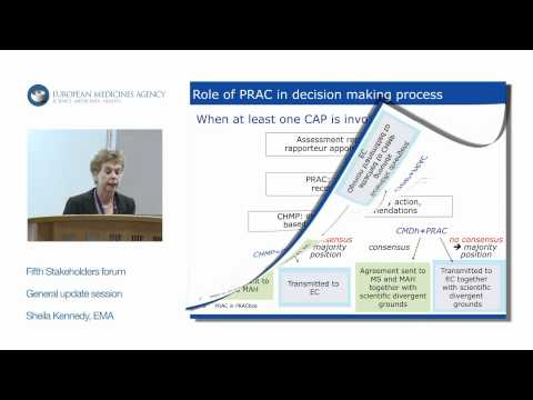 General update session: Pharmacovigilance and Risk Assessment Committee