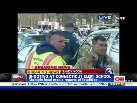 Breaking News!! Connecticut School Shooting Claims Many Lives!!!