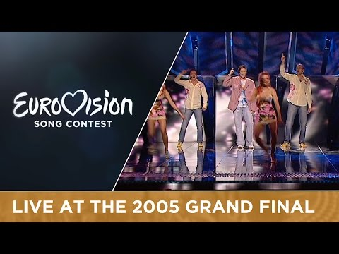 Martin Vucic - Make My Day (F.Y.R. Macedonia) Live - Eurovision Song Contest 2005