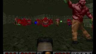 Doom PSX (TC) Map 55 (Fortess of mystery) ( 100% all secrets )