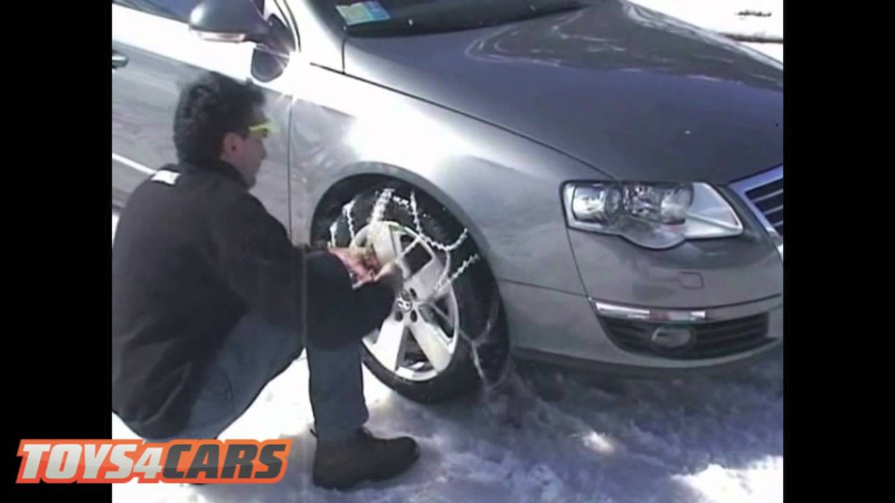 Thule CS10 Snow Chains Fitting Guide - YouTube