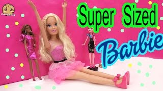 Best Fashion Friend Super-sized Barbie Doll + Dress Up  Toy Review Video Cookieswirlc