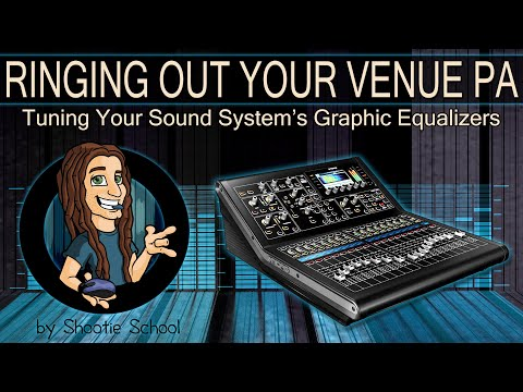 Ringing Out Your Venue PA   Tuning Your Sound System Graphic Equalizers