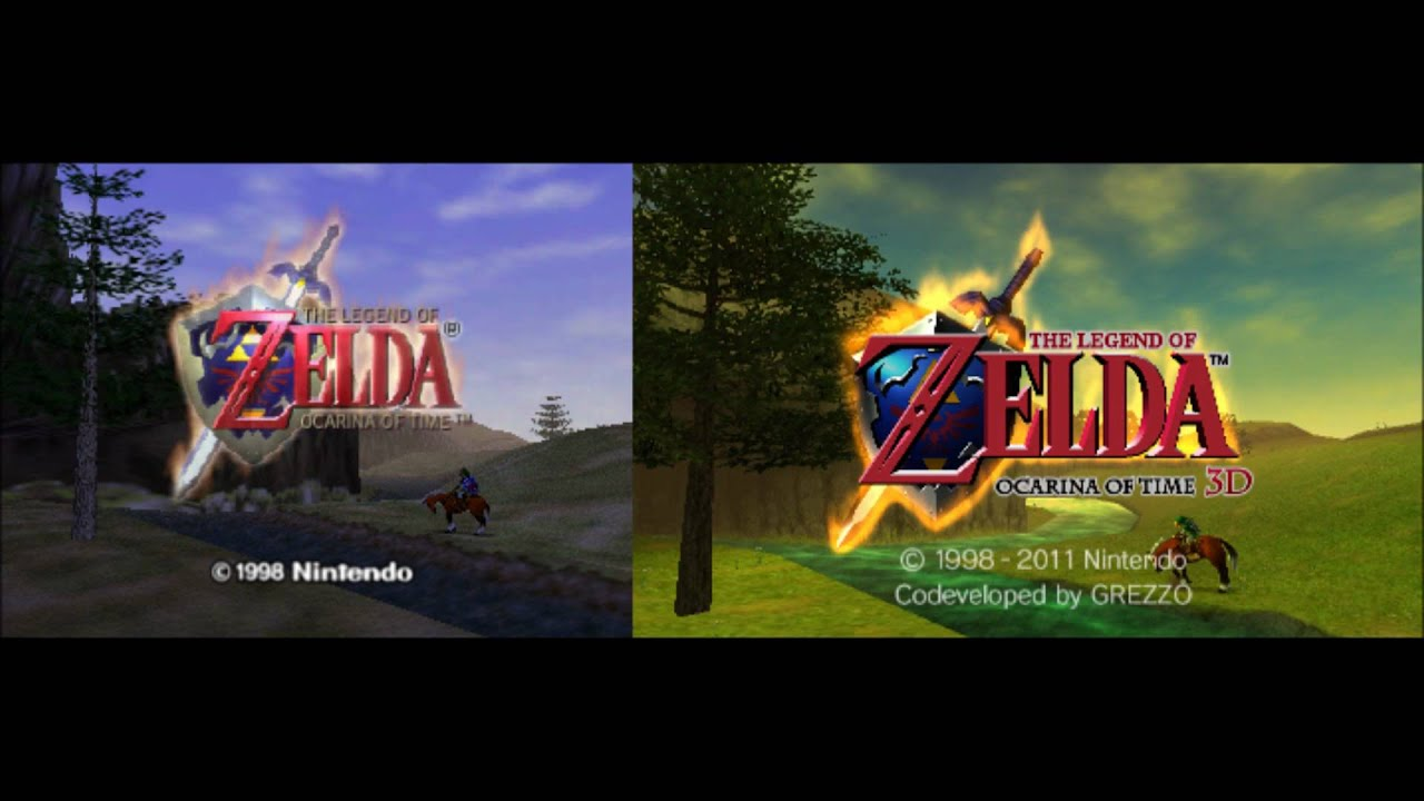 The Legend Of Zelda Ocarina Time N64 3DS Comparison Pictures Part 3