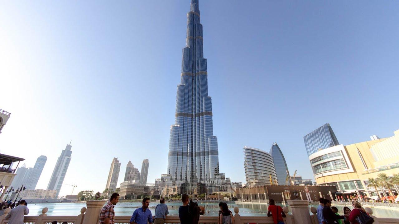 iPhone 7 Plus dropped from Burj Khalifa DUBAI