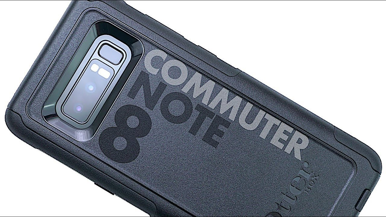 buy online 7221f 0b72d OtterBox COMMUTER Series Case for Samsung Galaxy Note 8 | Review