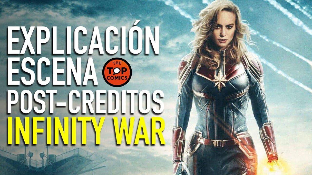 ¿Quién Es Captain Marvel? Explicación Escena Post-creditos