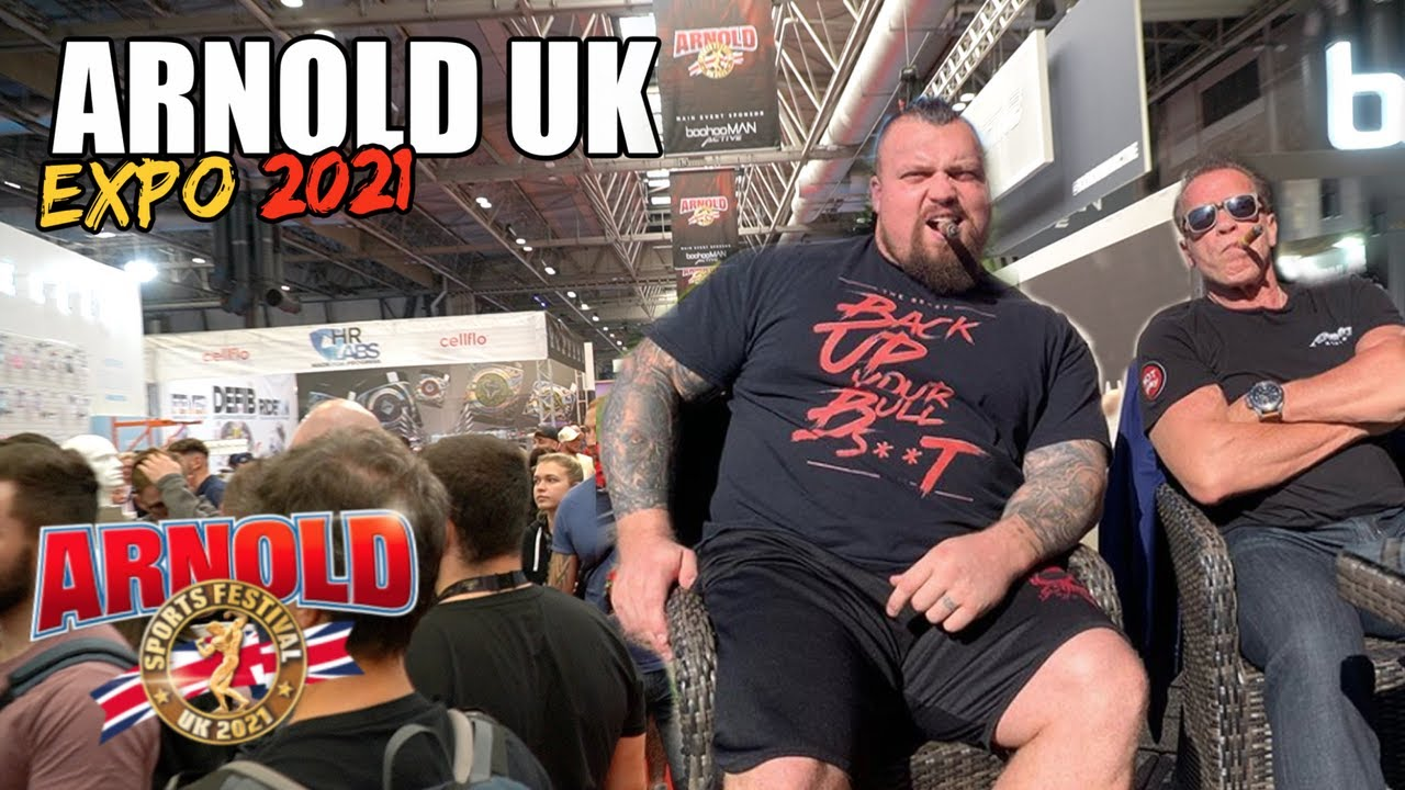 THE FIRST ARNOLD EXPO IN THE UK! 2021 Arnold Sports Festival