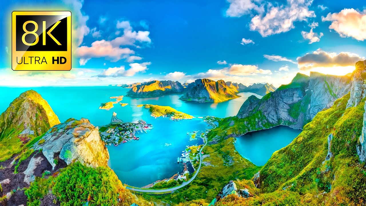 8K Images : Most Beautiful Places On The Planet In 8k Ultra Hd 8k Tv Youtube