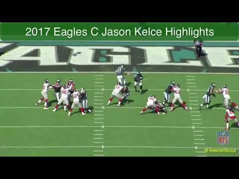 Jason Kelce 2017 Highlight Tape