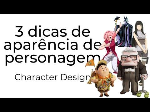 3 dicas para criar a aparência do seu personagem -  Character Design