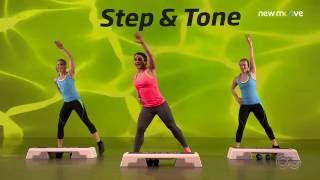 Online Fitness I Bodyshaping I Step and Tone Folge 2