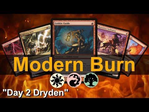 Modern Burn Deck Tech And Magic Online Gameplay