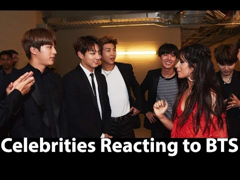 Celebrities Reacting To BTS (The ChainSmokers, Miley Cyrus, Camila Cabello, Ellen DeGeneres)