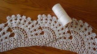 Repeat youtube video Crochet Abanicos Super Grandes