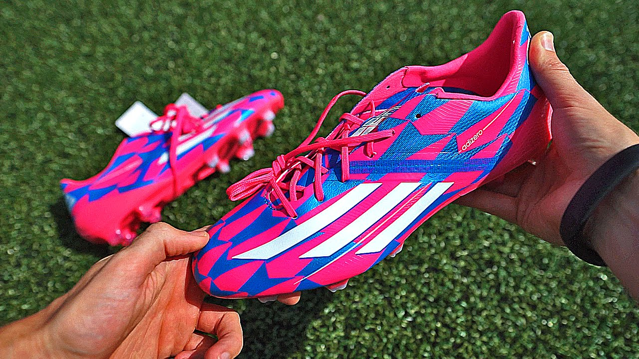 new product be324 0704a James Rodriguez   Messi Boots  F50 adiZero Unboxing by freekickerz - YouTube