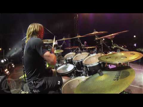 DYING FETUS@Your Treachery-Trey Williams-live in Brutal Assault 2016 (Drum Cam)