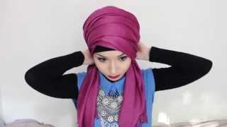 Hijab Tutorial l Turban