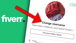 How to Change your Fiverr USERNAME in 2021 screenshot 4