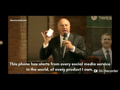 Kevin Oleary talking about the importance of reputation and branding
