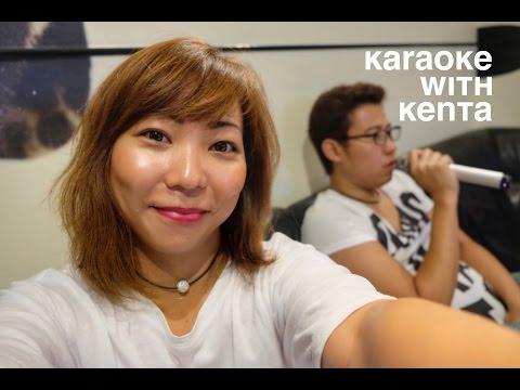 Sushi and Karaoke night with Kenta