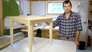 Build a small table