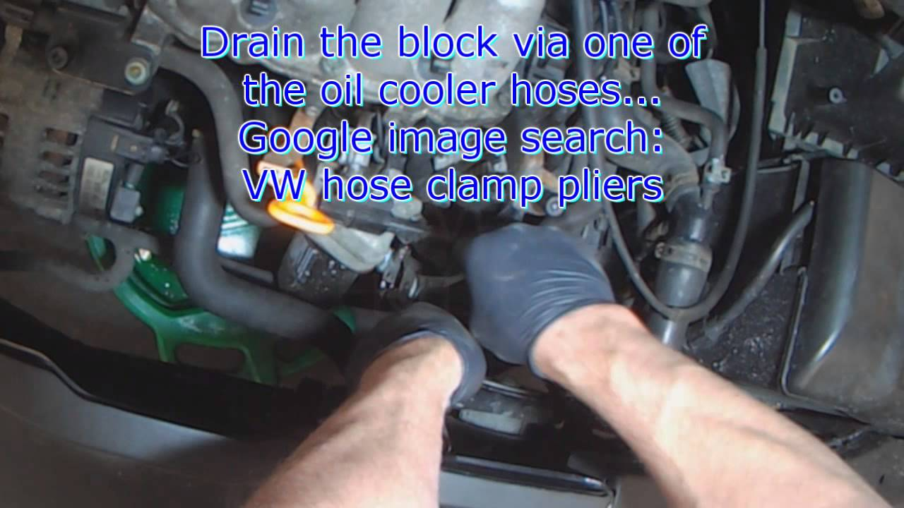 Vw A4 20l Aeg T Belt Water Pump Removal Youtube 2 0 Engine Diagram