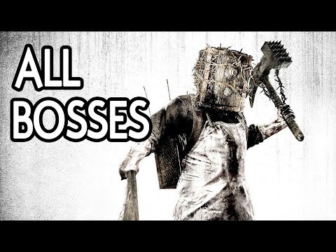 The Evil Within - All Bosses (Akumu No Damage)