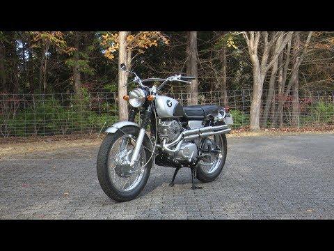 Honda Collection Hall 収蔵車両走行ビデオ ドリーム CL72(1966年)