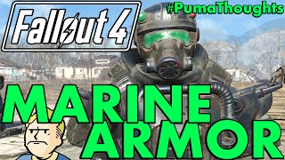 FALLOUT 4 Far Harbor DLC - Marine Armor Analysis, Review and Location PumaThoughts