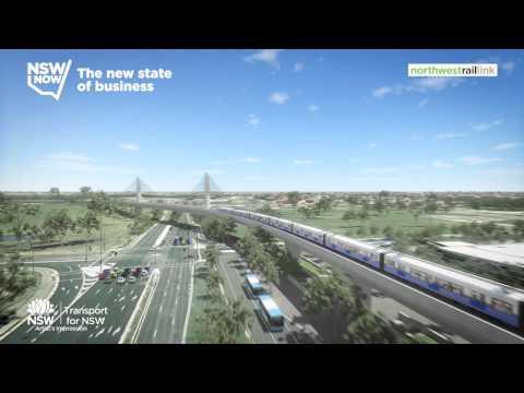 North West Rail Link Skytrain & Sydney Metro Bridge