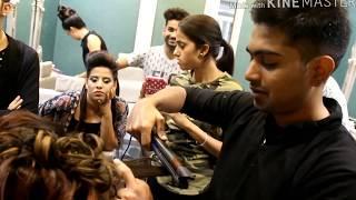 Bridal hairstyle tutorial|| letest update 2018|| shahnawaz academy
