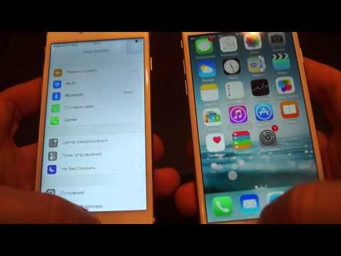Копия iphone 6-оригинал Iphone 6.Iphone 6 copy VS original iphone 6.
