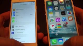 Копия iphone 6-оригинал Iphone 6.Iphone 6 copy VS original iphone 6.