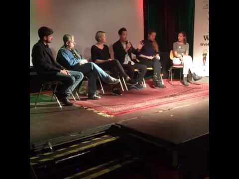 The international perspectives panel at Wendie Webfest Hamburg