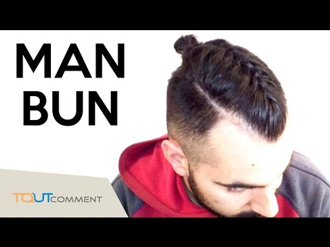 comment faire un man bun la derni re coiffure tendance pour homme youtube. Black Bedroom Furniture Sets. Home Design Ideas