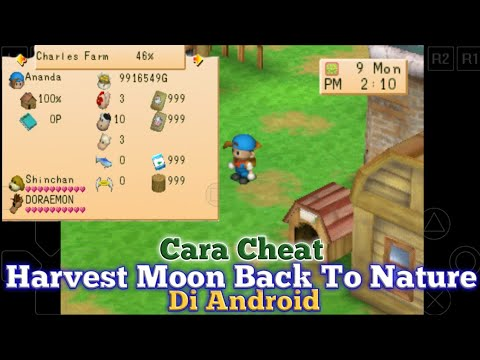 Cara Pasang Ch34t Harvest Moon Back To Nature Di Android
