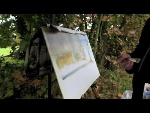 Richard Larkin - Atelier interactive acrylic - Workshop - Winchelsea - Rain